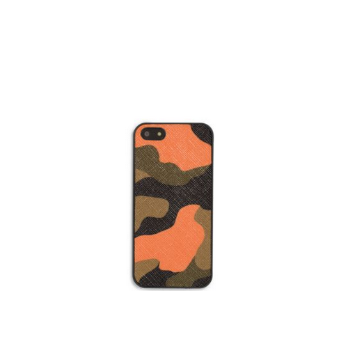 MICHAEL KORS MEN Camouflage Phone Case POPPY